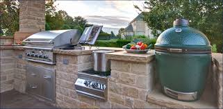 outdoor kitchen grill photo of charcoal grill big green egg kitchen design out home
