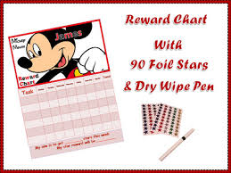 Mickey Mouse D2 Personalised Childrens Reward Behaviour