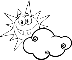 Small Picture Sun coloring pages with clouds ColoringStar