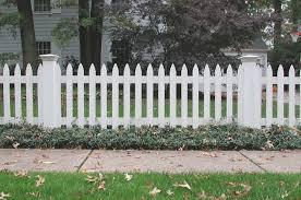 White Picket Fence Design Ideas White Wood Fence Designs White