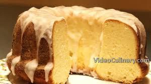 Old Fashioned Lemon Glazed Pound Cake Recipe Videoculinary