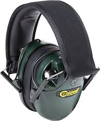 Caldwell Low Profile E-Max Electronic Cache-Oreilles, Mixte, Green:  Amazon.fr: Sports et Loisirs