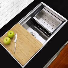 Highpoint Stainless Steel 30 inch Zero radius Undermount Kitchen