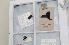 How To Make A Magnetic Memo Board Stunning How To Age New Galvanized Metal Make A Vintage Window Memo Board