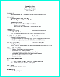 Chef Resume Sample Resume Skills For Pastry Chef Krida 77