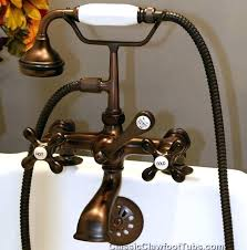 old bathtub faucets tub telephone faucet w hand held shower 2 delta bronze replacement home depot