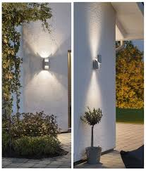 led exterior up down wall light