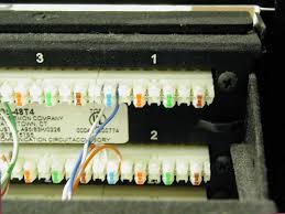 voice networking equipment an rj 45 connector has eight electrical connections as required for four pairs but for voice telephone only one pair is used