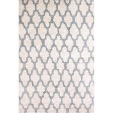 carpet art deco majesty 5x7 white white indoor area rug common 5 x 7