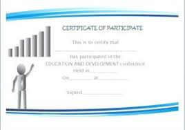 Symposium Certificate Templates International Conference Certificate