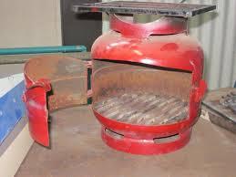 gas bottle wood stove