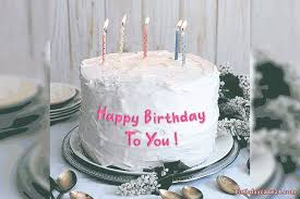 happy birthday cake gifs with name edit
