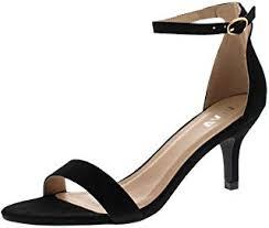 Kitten Heel - Fashion Sandals / Sandals & Slides ... - Amazon.co.uk