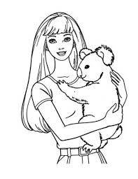 Small Picture Koala Coloring Pages Barbie Coloring Pictures