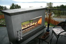 double sided outdoor fireplaces ideas s decorating tips for cakes
