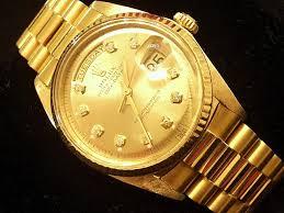 rolex mens gold day date president 1803 for beckertime rolex 18k yellow gold day date president 1803 champagne diamond 4