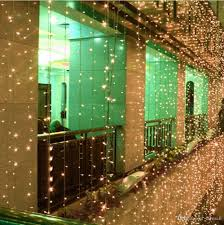 home lighting decoration. 3m*3m 300 Leds Window Curtain Icicle Lights String Fairy Light Wedding Party Home Garden Decorations 110v 220v Flash Commercial Outdoor Lighting Decoration
