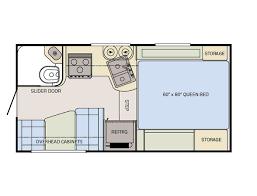 adventurer truck camper floor plans