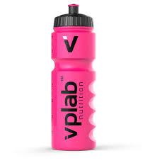 Купить <b>Бутылка для воды</b> VPlab Gripper розовая, 750 мл с ...