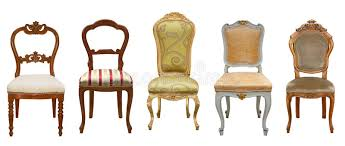 Vintage chairs isolated stock image Image of isolated 35171967