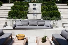 modern design outdoor furniture decorate. Terrace Garden Design Ideas Modern Wooden Deck Orange Fence Outdoor Firepit Combine Recessed Lamp Table Furniture Decorate U