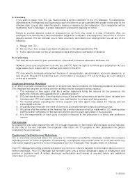 Voluntary Termination Letter Template – Lespa