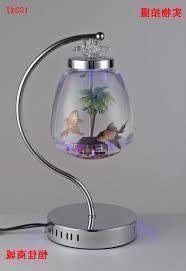 photo 1 of 8 table lamp fish tank small desktop fish tank