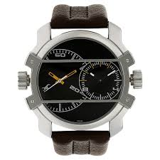fastrack black round dial leather strap og watches for guys nk3098sl02 at best in india titan co in fastrack