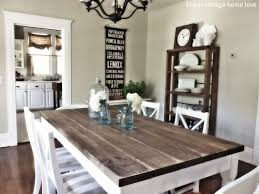 diy rustic dining room sets have table pads white chairs in design 11