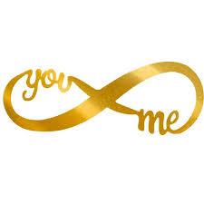 wedding designs. You and Me Infinity Sign 2995 Ships Free Metal Wall Decor Art