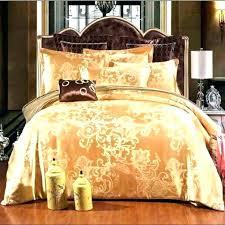 gold duvet cover king set black size blue white satin jacquard bedding luxury sets uk duv gold duvet set cover super king size