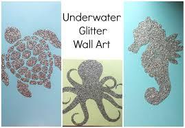 nursery decor glitter wall art nursery series jessica joaquin you