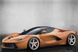 A special delivery has just landed in the united states, containing one of the most special examples of ferrari laferrari we've seen so far. Lacolors Who Said The New Laferrari Has To Be In Red Only Carscoops