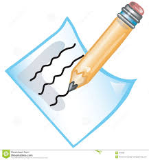 writing paper clipart clipground pencil writing on paper clipart