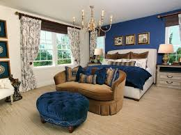 royal blue and gold bedroom decor page