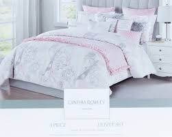 beautiful bed decorating ideas with cynthia rowley comforter set