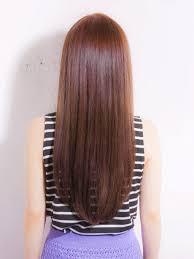 ロングヘアストレートナチュラルスタイル髪型特集