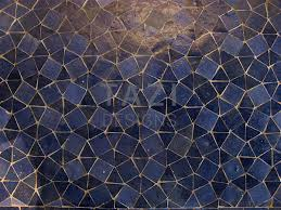 Mosaic Pattern Awesome Moroccan Mosaic Pattern Blue Triangles Tazi Designs