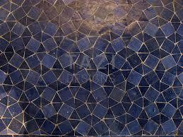 Mosaic Pattern Awesome Moroccan Mosaic Pattern Blue Triangles Tazi Designs
