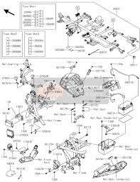 kawasaki ninja 650 abs 2017 spare parts msp chassis electrical equipment