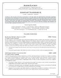 Special Education Instructional Assistant Sample Resume Resume Special Education Teacher Assistant Resume 24