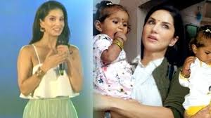 sunny leone speaks up on adopting a child from latur