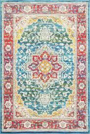 oriental weavers joli 502x red multi area rug