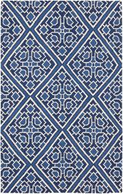 amd1005 58 amd1005 58 corner navy blue diamond pattern lacefield surya rug