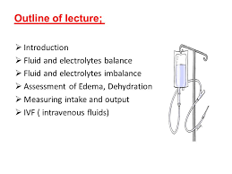 Care For Patients With Fluid And Electrolytes Imbalance