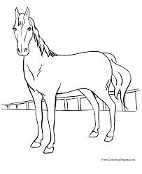 Horse Coloring Pages Free Coloring Pages 25 Free Printable