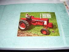 farmall 706 diesel vintage ih mccormick farmall 706 806 tractor color brochure circa 1970 nice