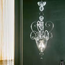 Hand blown lighting Art Glass Imposing Large Handblown Venetian Glass Stairwell Light Los Gatos Imposing Large Handblown Venetian Glass Stairwell Light Italian