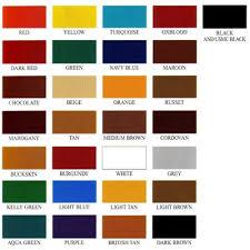 Fiebings Suede Dye Color Chart Fiebings Leather Dye