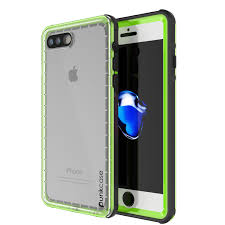 Crystal Light Case Punkcase Crystal Light Green Apple Iphone 7 Plus Waterproof